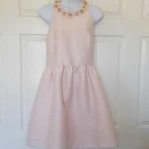 Nwt Kate Spade poppy embellished pink dress